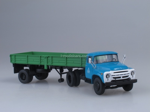 ZIL-130V1 with semitrailer ODAZ-885 1:43 Start Scale Models (SSM)