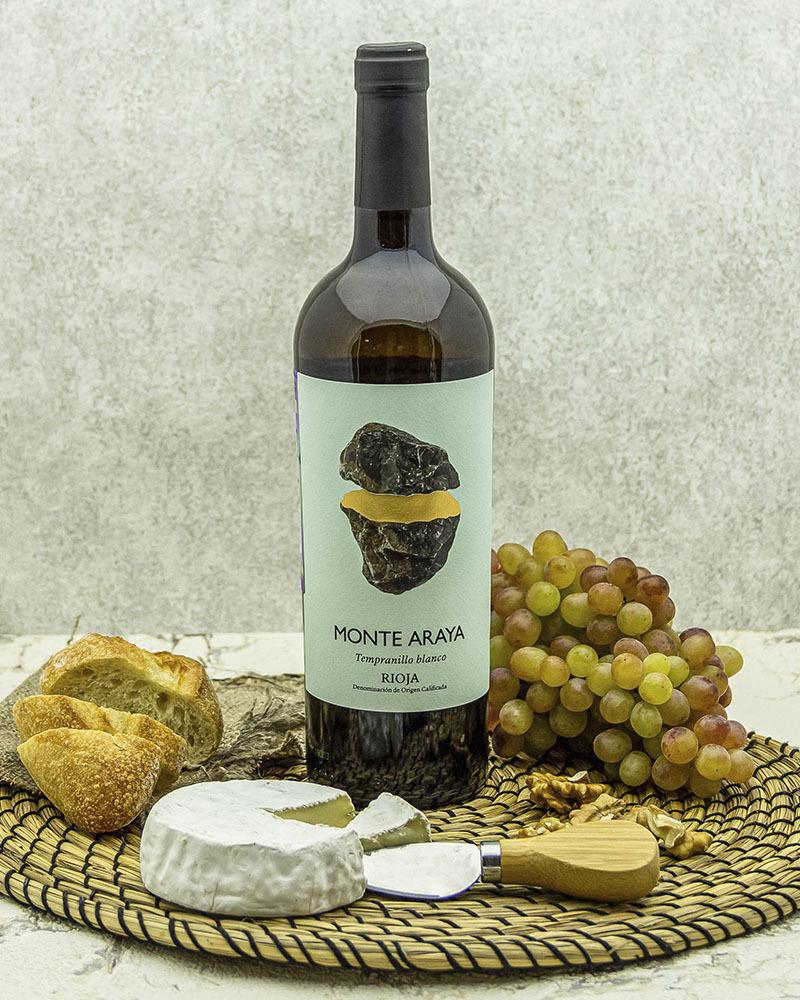 Вино Bodegas Del Medievo Монте Арайя Темпранильо Белое сухое 2018 г.у. 12,5% 0,75 л.