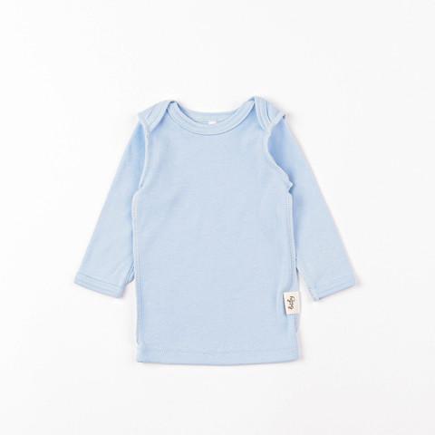 Long-sleeved T-shirt 0+, Light Denim