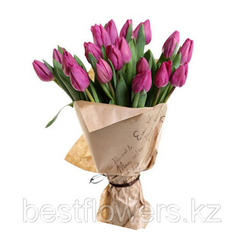 Букет из тюльпанов Барселона