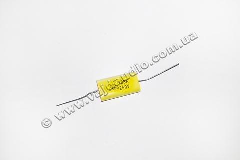 Полиэстеровые аксиальные конденсаторы