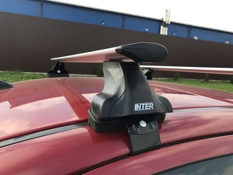 Модельный багажник с креплением за дверной проем крыловидные дуги 120 см.