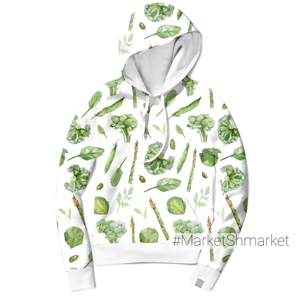 Зеленые овощи и растения