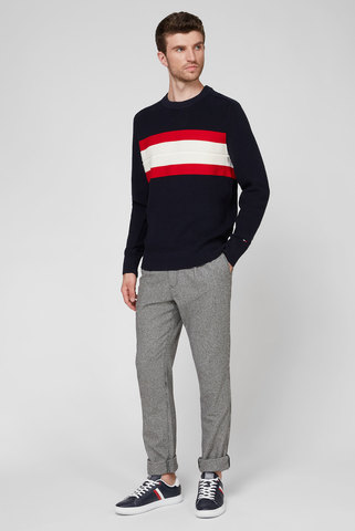 Мужские брюки Tapered Cropped Check Pant Tommy Hilfiger