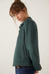 Куртка зі штучної замші