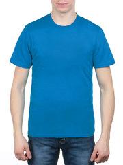 3366-3 футболка мужская, синяя