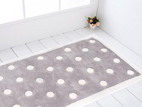 Комплект махровых ковриков  Bernelle Puanti 2пр 50х60 и 60х100 Maison Dor (Турция)