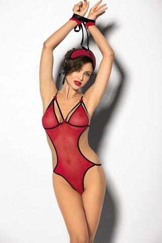 Сексуальное красное боди Eltero (BS)