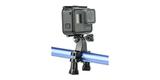 Крепление на трубу/раму 11-18 мм GoPro Handlebar Seatpost Pole Mount (GRH30) с камерой сбоку