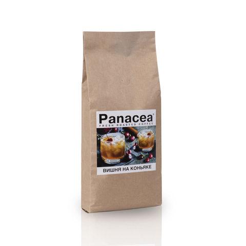 Ароматизированный кофе в зернах Panacea.Вишня на коньяке