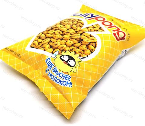 Воздушные пшеничные зёрна Jolly Pong Original, Корея, 60 гр.