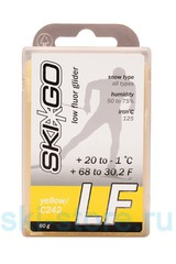 Парафин SkiGo LF Yellow, +20/-1, 60 г