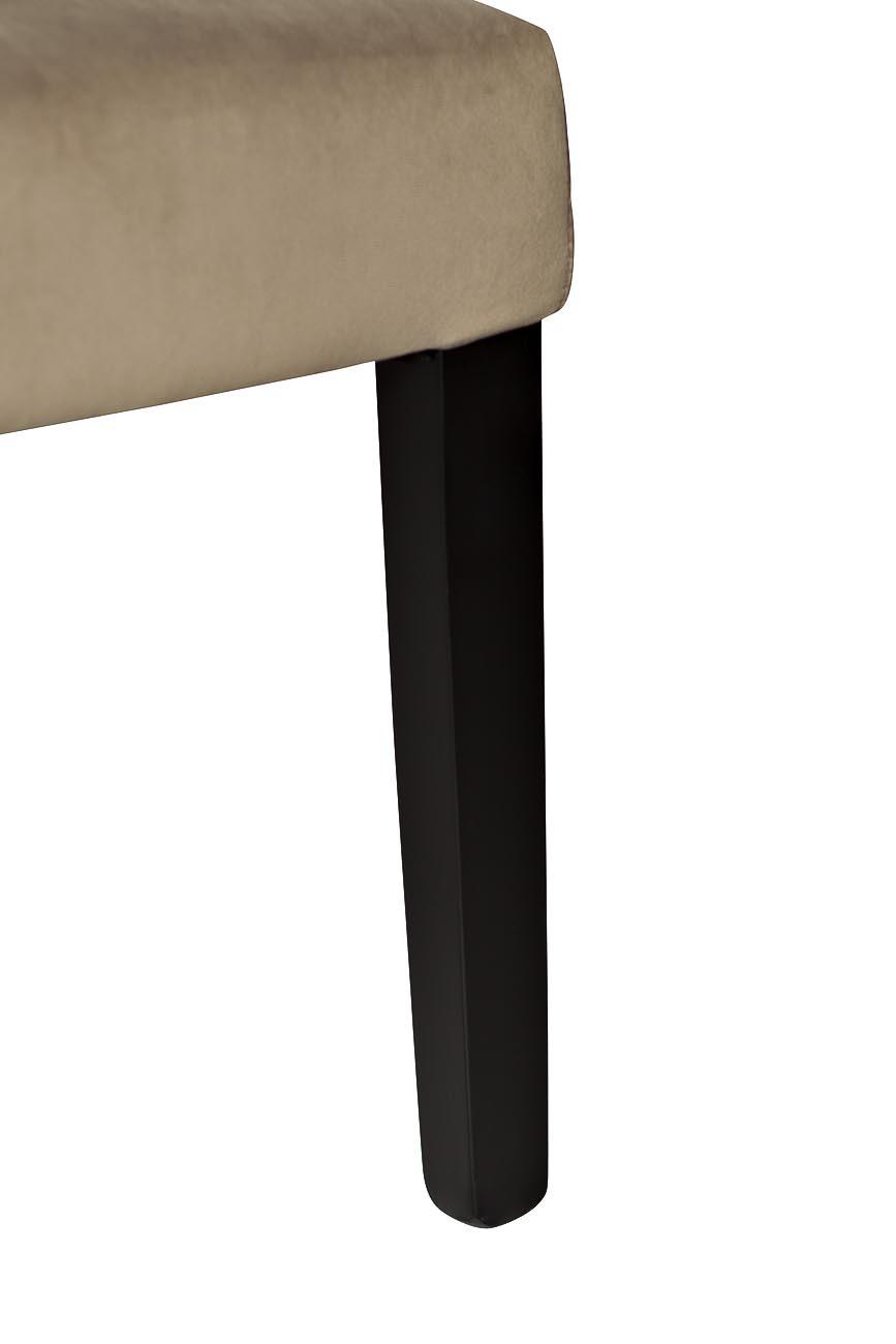 Стул PJC597-J631 велюр бежево-серый 98*47*53см
