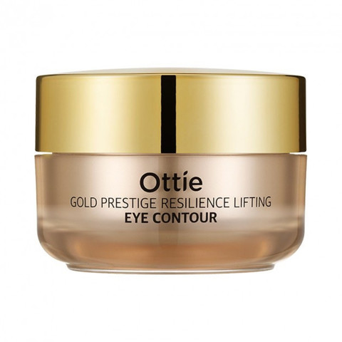 Ottie Gold Prestige Resilience Lifting Eye Contour увлажняющий лифтинг-крем для кожи вокруг глаз против морщин