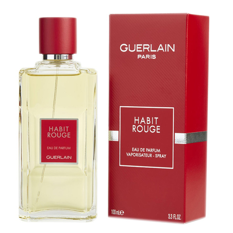 Guerlain: Habit Rouge мужская туалетная вода edt, 200мл
