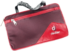 Косметичка дорожная Deuter Wash Bag Lite II 5513 fire-aubergine