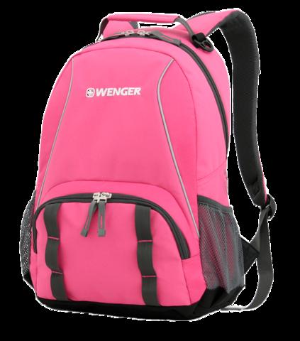 Рюкзак WENGER, цвет розовый, 20 л., 45х32х14 см., 2 отделения (12908415)