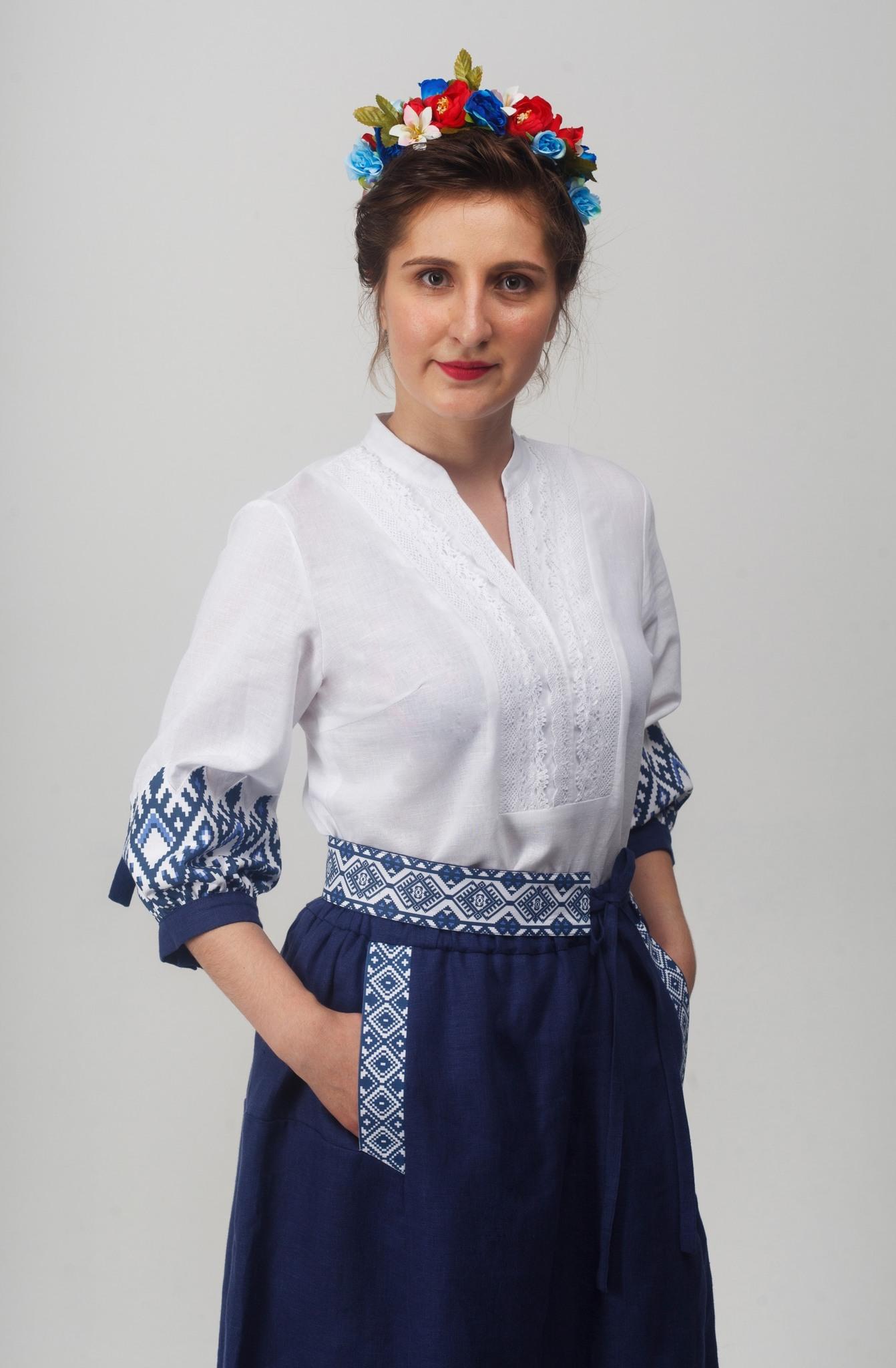 Блуза Родные узоры