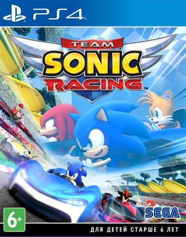 Team Sonic Racing (PS4, русские субтитры)