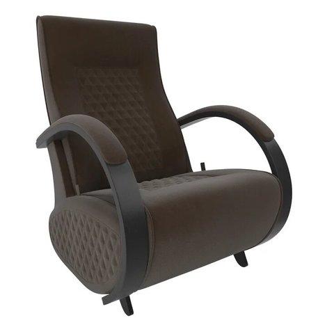Кресло-глайдер Balance Balance-3 с накладками, венге/Verona Brown, 014.003