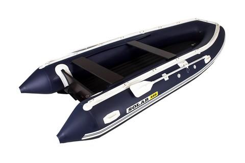 Надувная ПВХ-лодка Солар - 450 Jet Tunnel (синий)