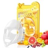 Маска для лица на тканевой основе с витаминным комплексом Elizavecca
