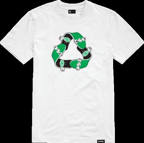 Футболка ETNIES Recycle Sk8 Ss Tee white