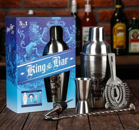 Набор для приготовления коктейлей «Король бара»