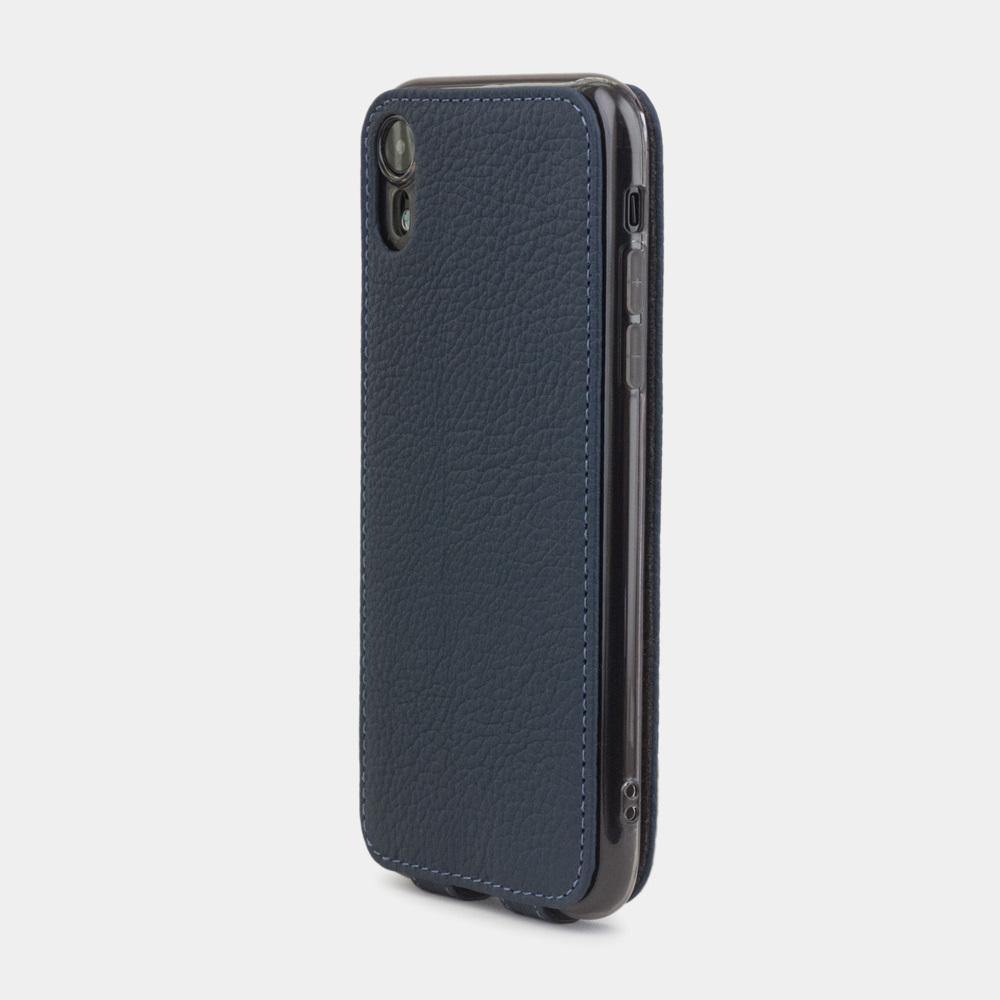 Case for iPhone XR - blue mat