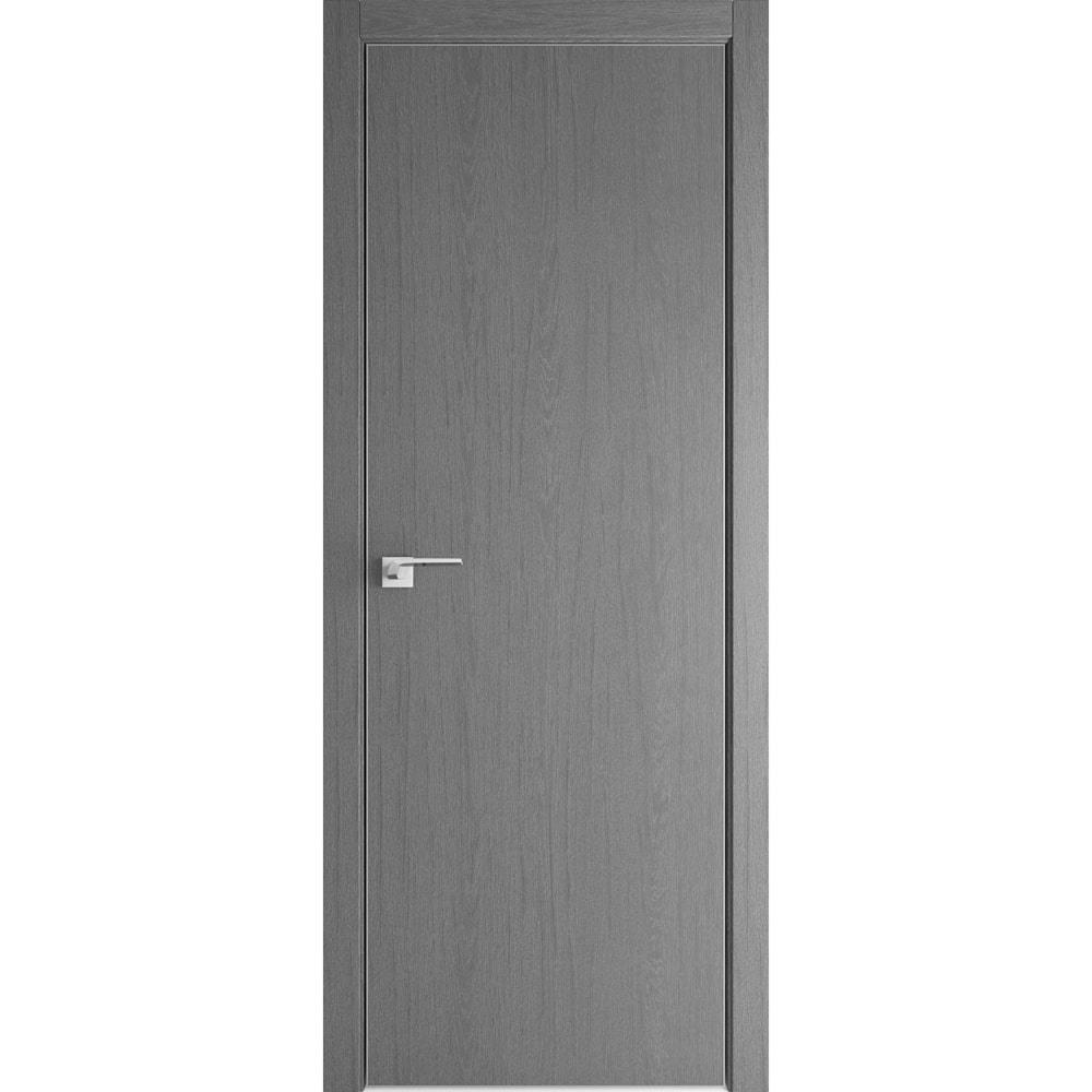 Для коттеджа Межкомнатная дверь экошпон Profil Doors 1ZN грувд серый с алюминиевой кромкой Eclipse глухая 1zn-gruvd-seryy-kromka-matovaya-dvertsov-min.jpg