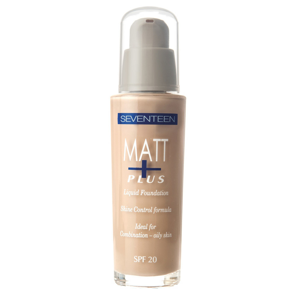 Тональный крем длительного действия Matt Plus Liquid Make-Up SPF 20