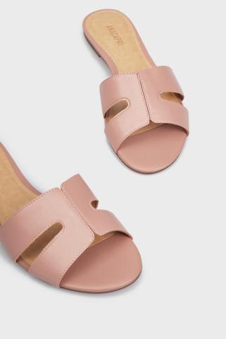 Женские розовые слайдеры Anacapri