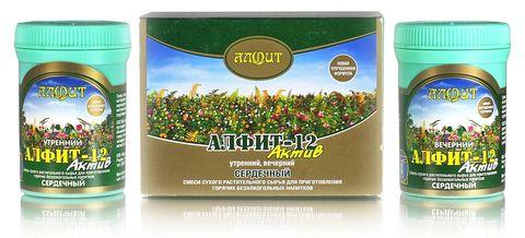 Чай Алфит-Актив № 12 сердечный, 60 бр. (Гален)