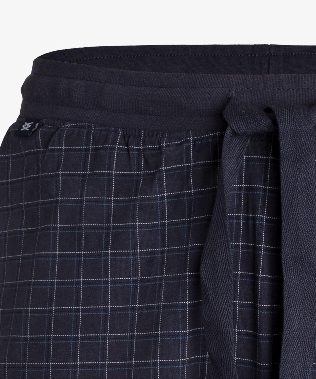 Мужская пижама Atlantic, 1 шт. в уп., хлопок, деним, NMP-341