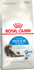 Корм для длинношерстных и полудлинношерстных кошек, Royal Canin Indoor Long Hair 35,