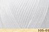 Пряжа Fibranatura Luxor 105-01 (Белый)