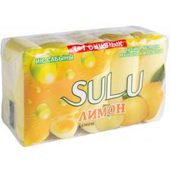 SULU туалетное мыло Лимон  5Х70 гр.
