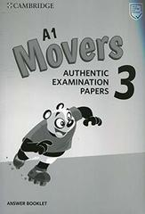 Movers 3  Answer Booklet (New format)