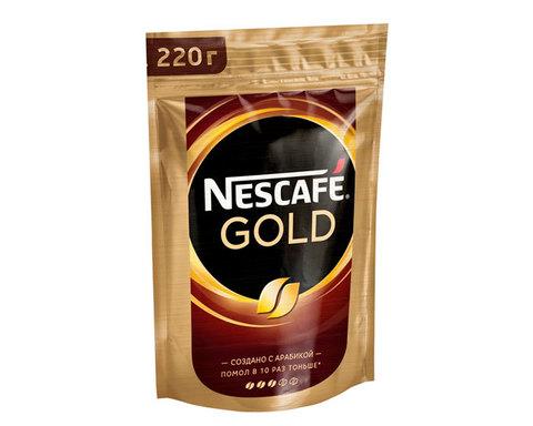 купить Кофе растворимый Nescafe Gold, 220 г