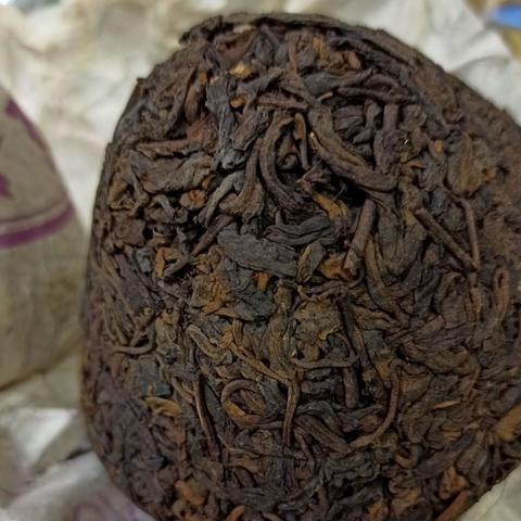 Мусульманский шу «Гриб» Мо Гу То Шу, Чай Пуэр