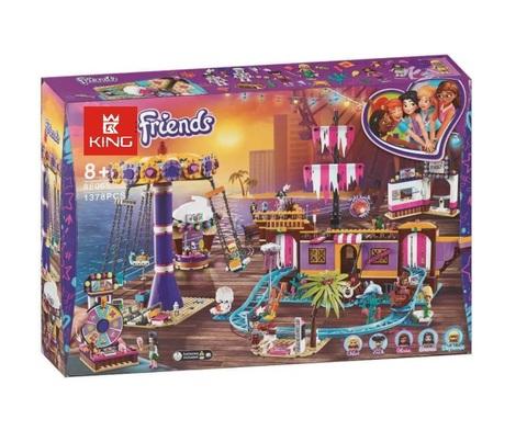 Конструктор Queen Girls Paradise 86065 Прибрежный парк развлечений