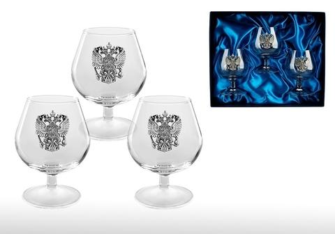 Подарочный набор бокалов для коньяка «Российский стандарт»