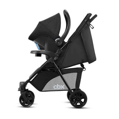 Коляска 2 в 1 CBX by Cybex Woya Smoky Anthracite