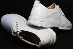 Спортивные туфли кроссовки летние женские Derem 18-104-04 All White