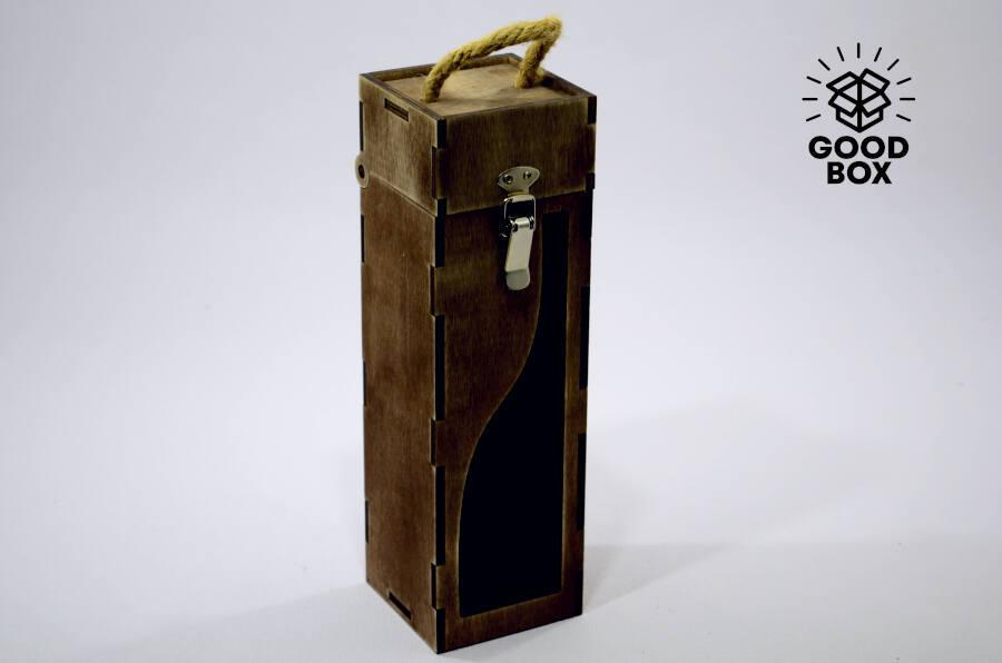 Деревянный ящик под алкоголь