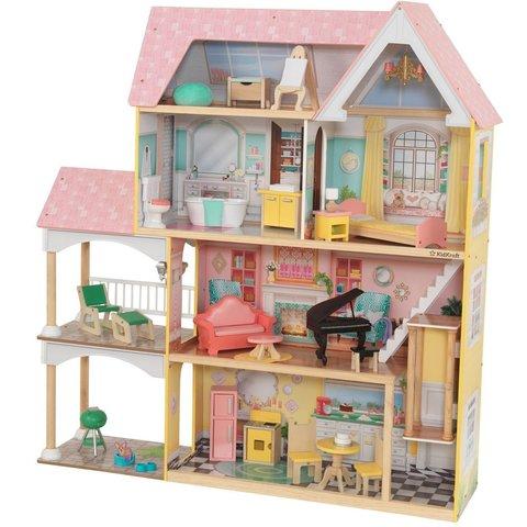 KidKraft Особняк Лола - кукольный домик с мебелью 65958_KE