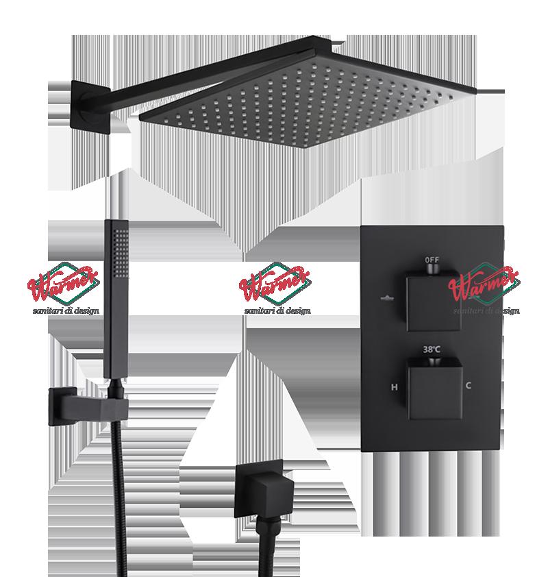 Душевая программа Душевой комплект Warmer Black Line Cube 2100400-10D Termo BL715-12-1.png