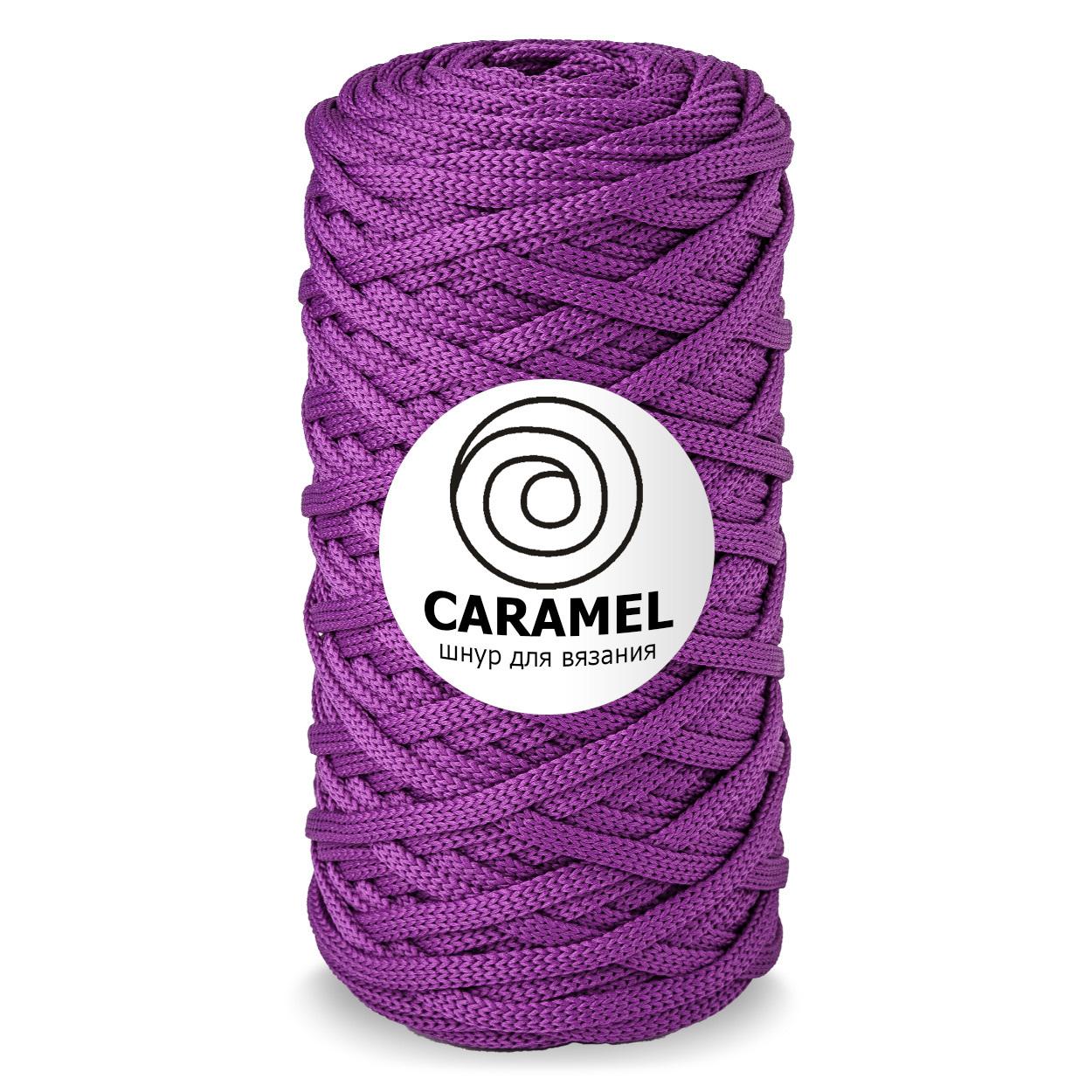 Плоский полиэфирный шнур Caramel Полиэфирный шнур Caramel Пурпурный new_image.jpeg
