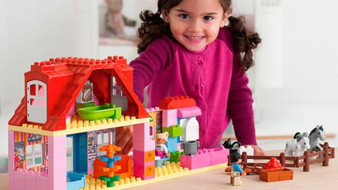 LEGO Duplo: Конюшня 10500 — Horse Stabl — Лего Дупло