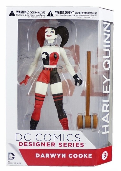 ДС комикс Дарвин Кук фигурка Харли Квинн — DC Comics Darwyn Cooke Harley Quinn